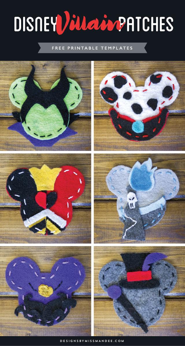 DIY Disney Villain Patches