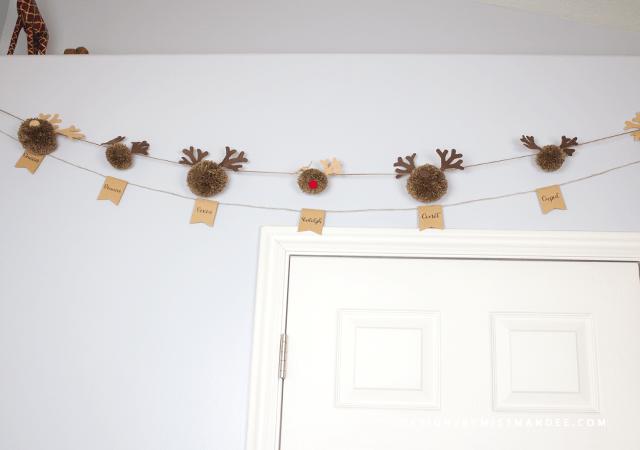 Reindeer Pom Poms