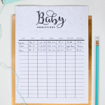 Baby Prediction Printable