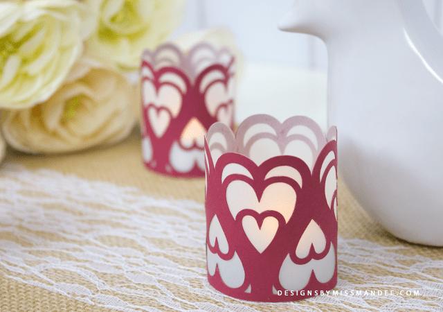 Valentine Tea Light Votive