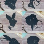 Winnie the Pooh and Friends Silhouettes