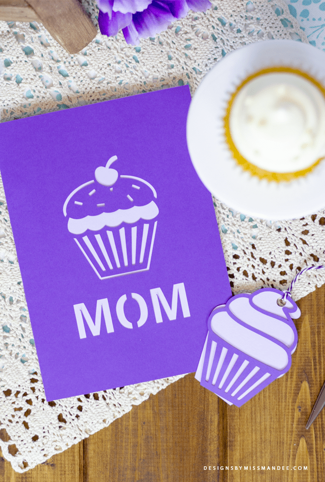 Mother's Day Cupcake Cards and Tags