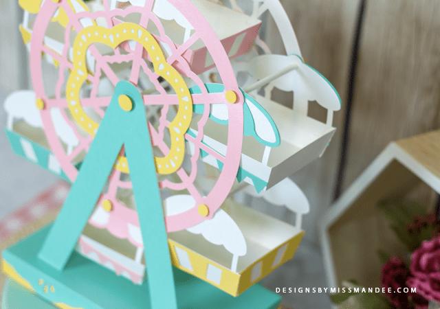 Die Cut 3D Ferris Wheel