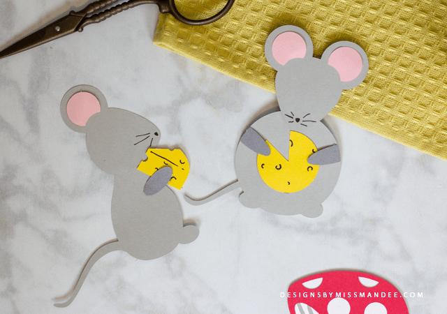 Die Cut Mice