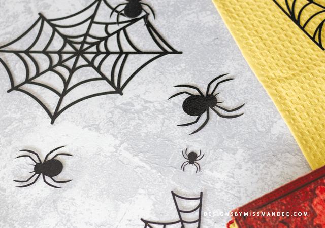 Die Cut Spiders