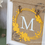 Die Cut Fall Wreaths
