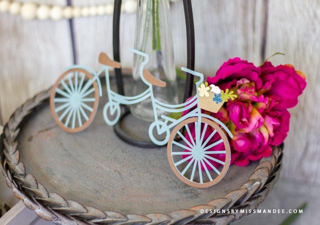 Die Cut Bicycles