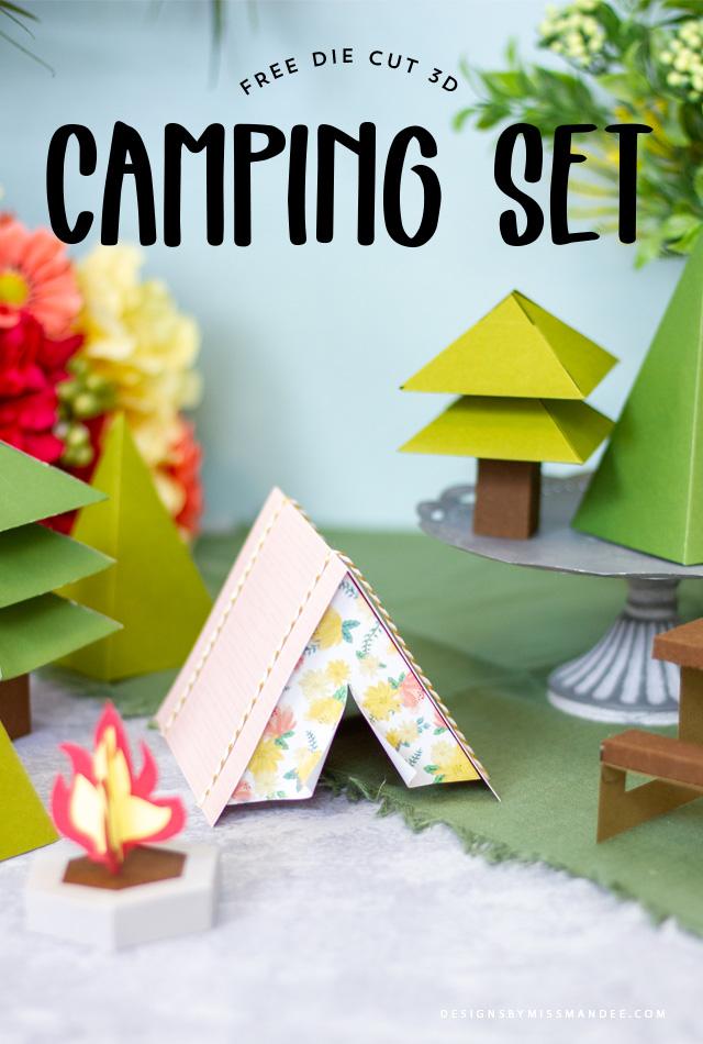 3D Camping Set