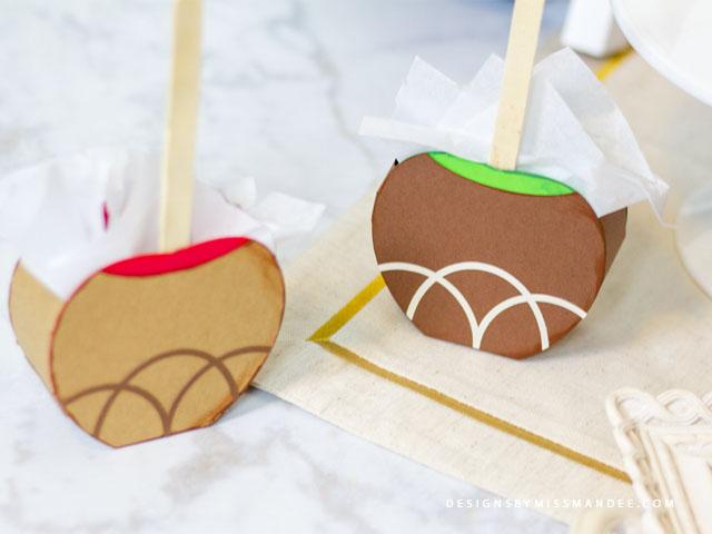 Caramel Apple Treat Boxes