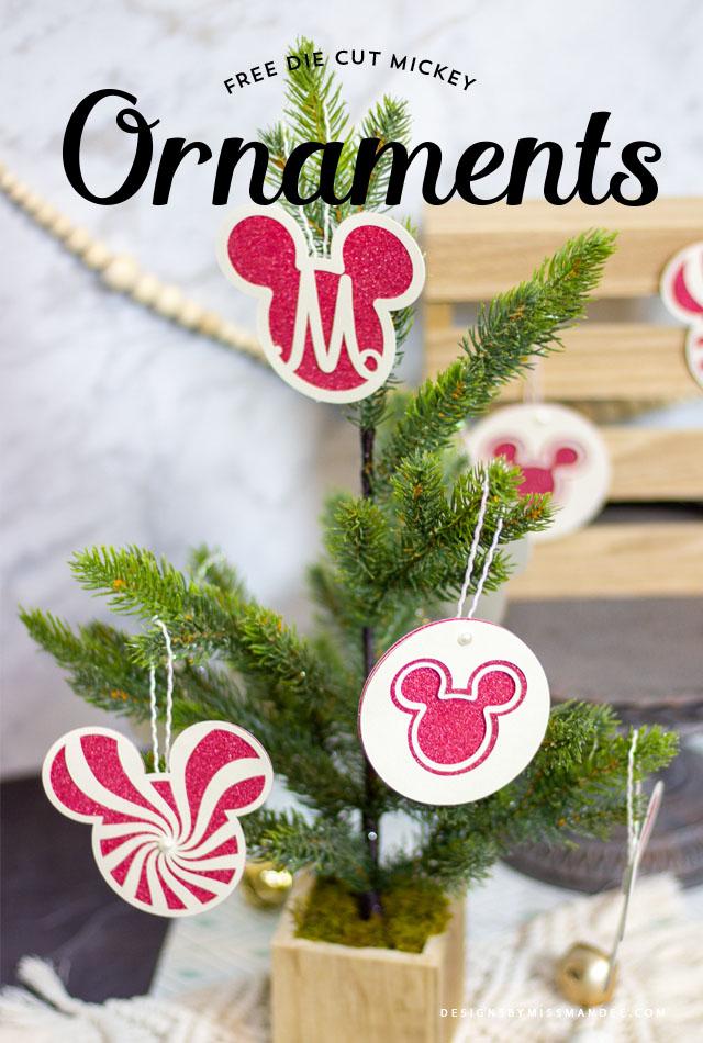Mickey Christmas Ornaments