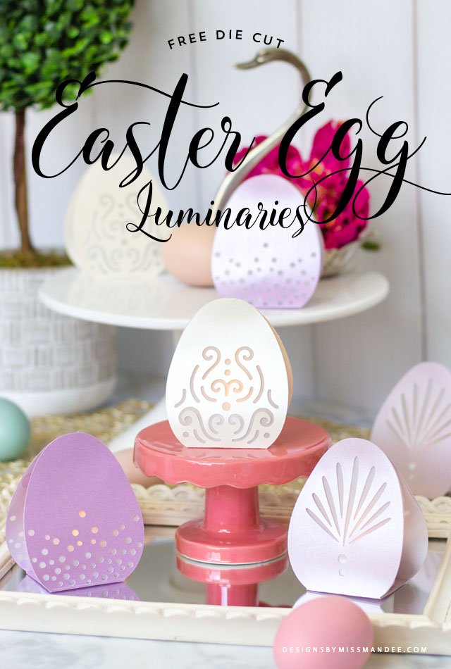 Easter Egg Luminaries