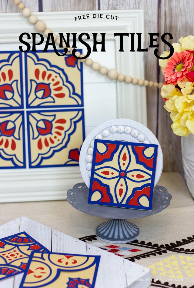 Spanish Tile Cut Files