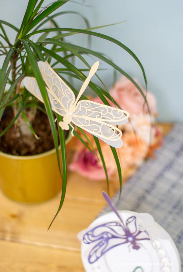 Die Cut Dragonflies