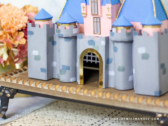 3D Disneyland Castle