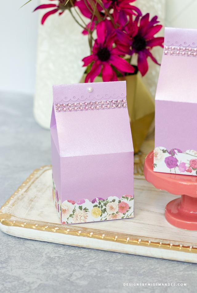 Milk Carton Treat Boxes