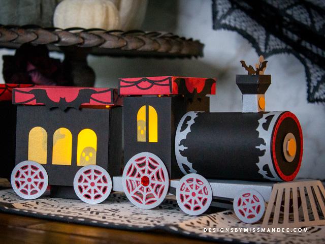 3D Haunted Train