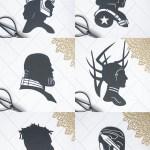 Marvel Villain Silhouettes