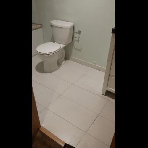 Bathroomremodelballardseattletilefloorvinylshowerdrywall - Handyman bathroom remodel