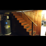 Basement Stair Railing