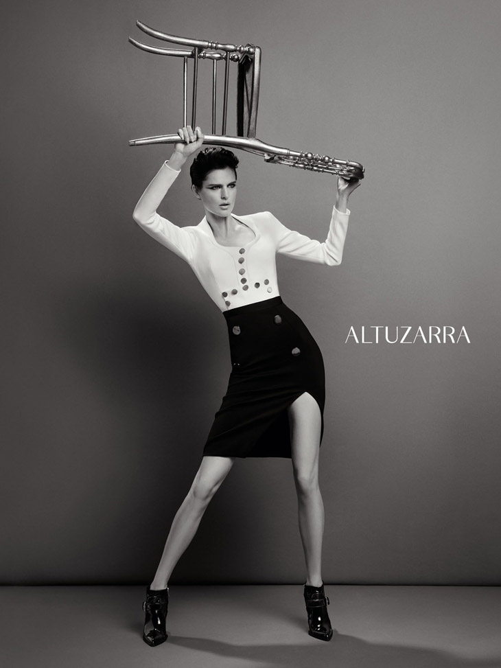 Altuzarra Ft Supermodel Stella Tennant By Inez Amp Vinoodh