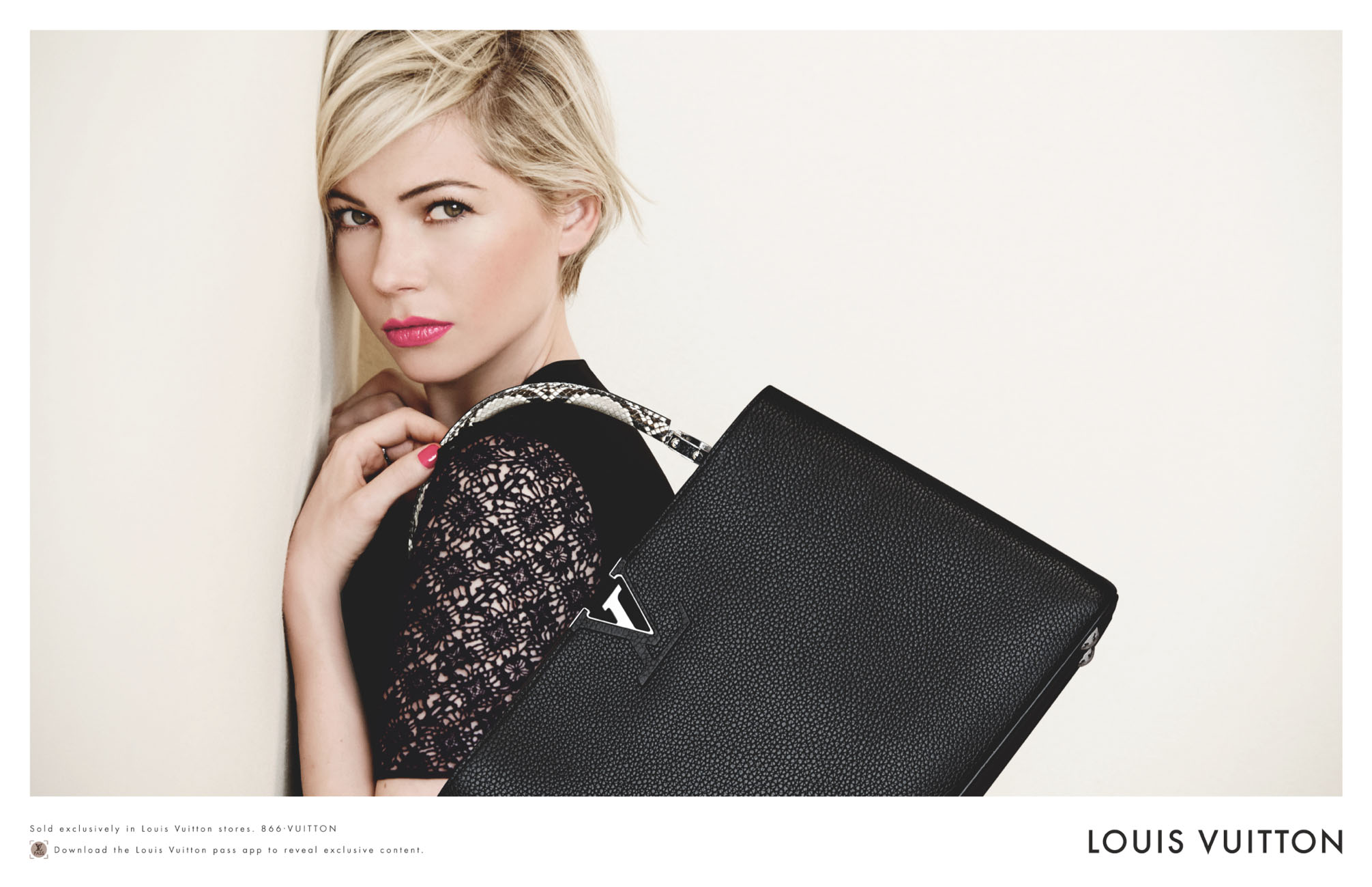 Michelle Williams For Louis Vuitton Handbags