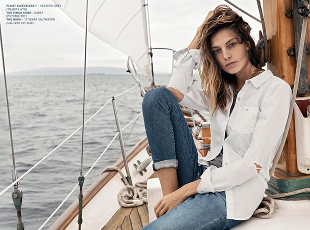 Daria Werbowy Amp Mathias Lauridsen For AG Jeans