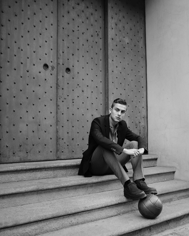 Paulo Dybala For LUomo Vogue By Eric Guillemain