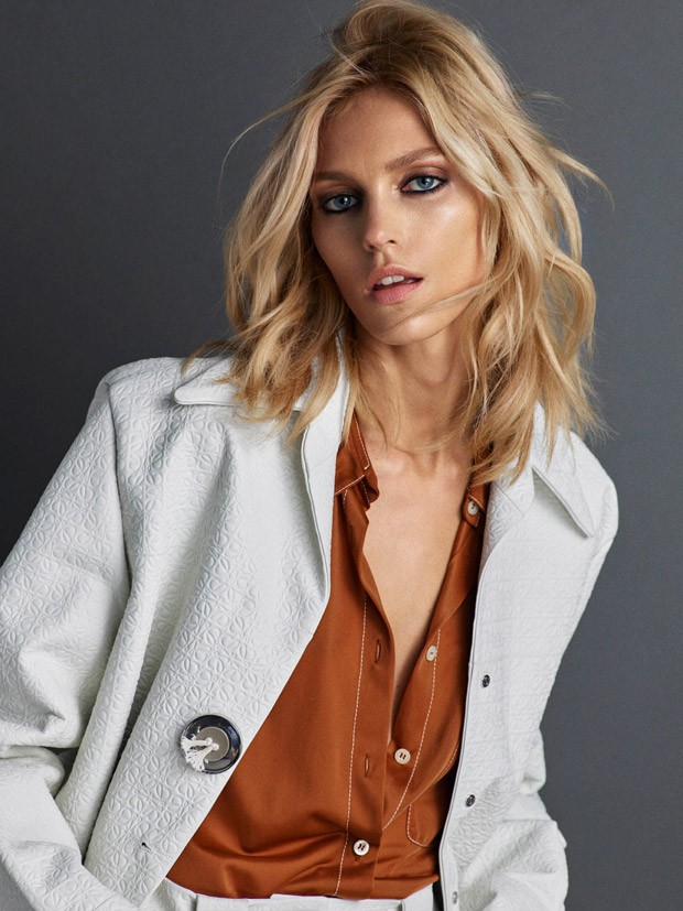 Anja Rubik By Hunter Amp Gatti For Vogue Portugal