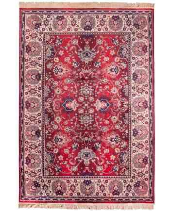 Bid tapijt Dutchbone rood