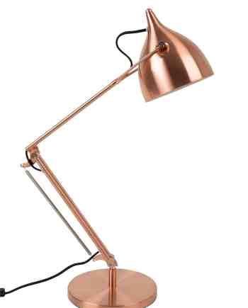 Reader tafellamp Zuiver koper