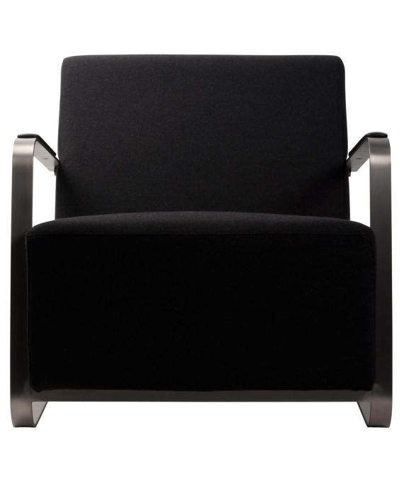 Adwin loungestoel Zuiver zwart 2