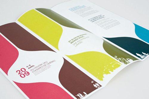 behanceWine  amp Spirits Festival Branding 50 Amazing Brochure Layout Ideas