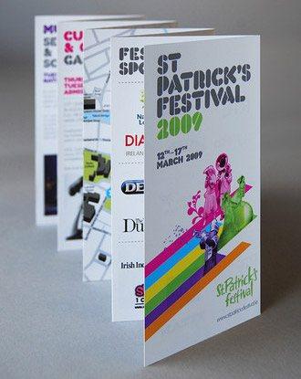 sortdesigncoukstpatricks 50 Amazing Brochure Layout Ideas