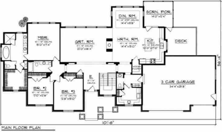 Classic-Modern-Ranch-House-plans