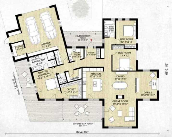 Minimalist-Contemporary-Ranch-House-plans