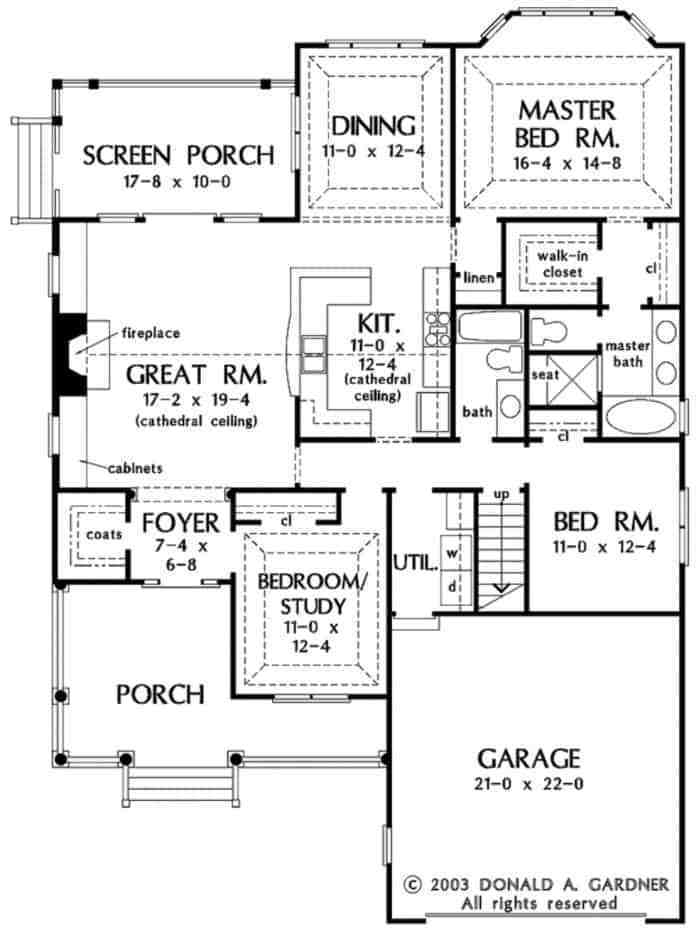 The-Simplest-Ranch-House-plans