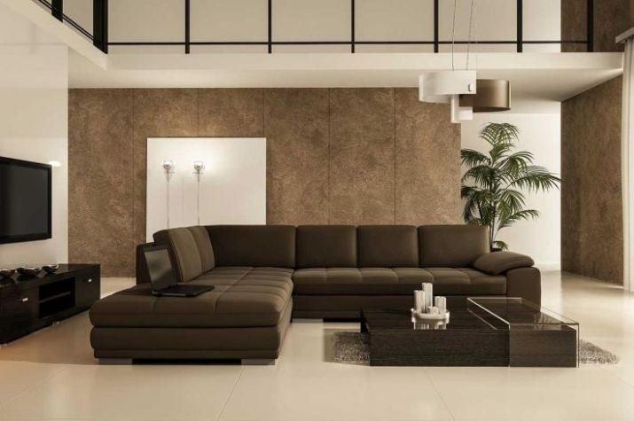 Classy-modern-living-room-with-laptop-on-the-sofa