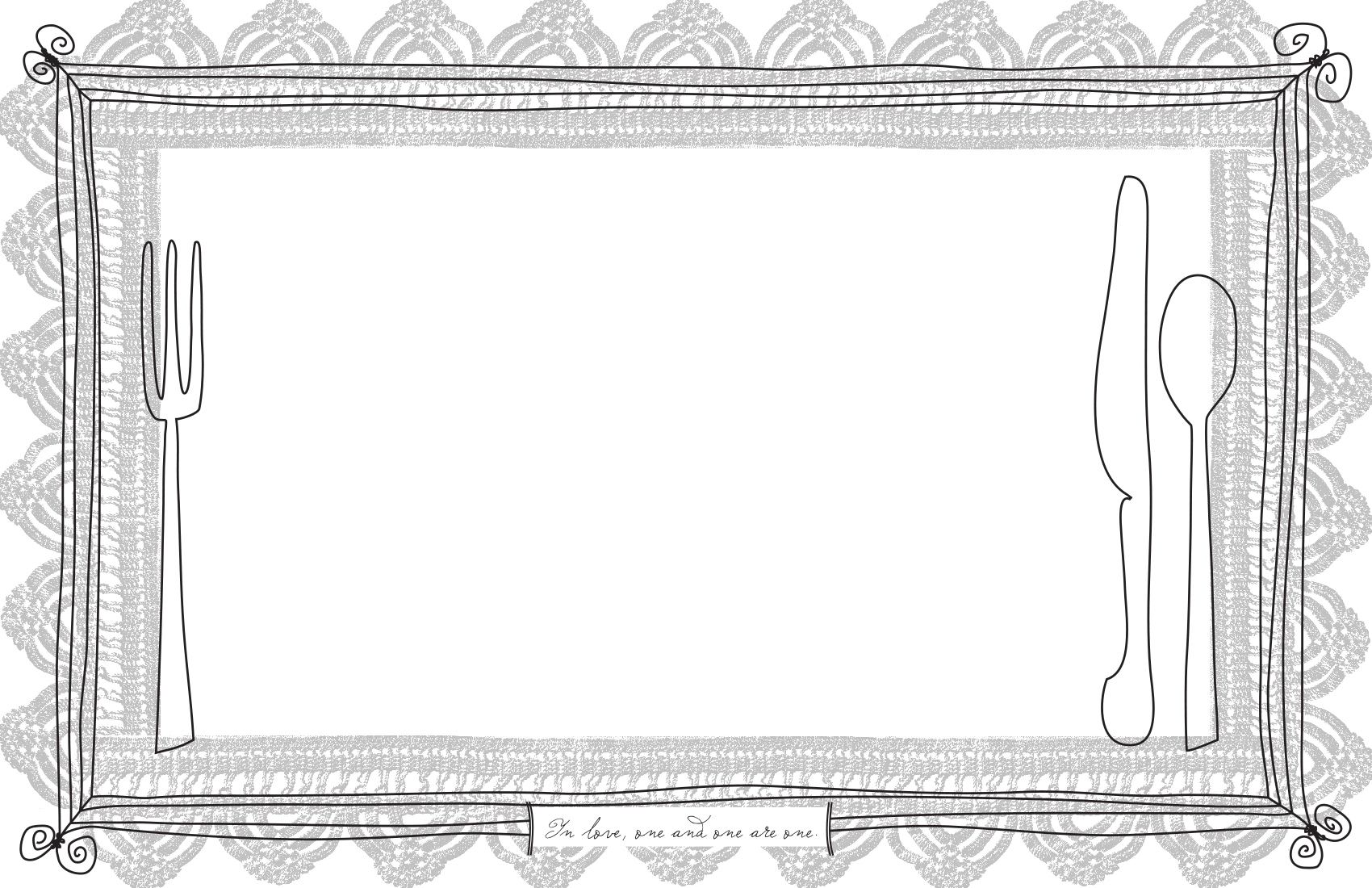 It is a graphic of Printable Placemat Template within birthday