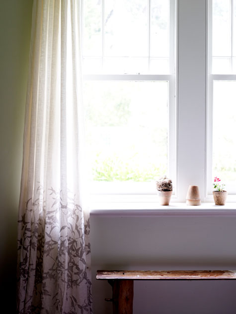 past present history of curtains