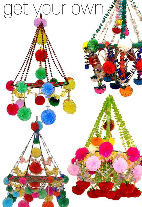 Image Above Pajaki Chandeliers
