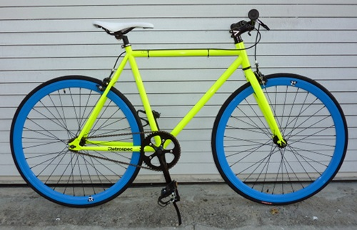 700c Colored Tires Bike