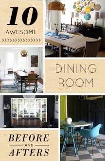 10 Awesome Dining Room Transformations     Design Sponge 10 Awesome Dining Room Transformations  by Amy Azzarito   10diningroomtransformations