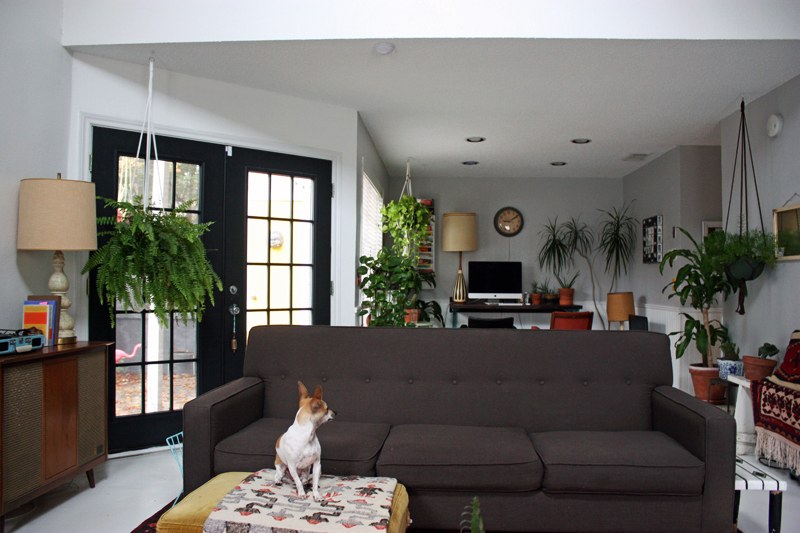Wide - front of couch