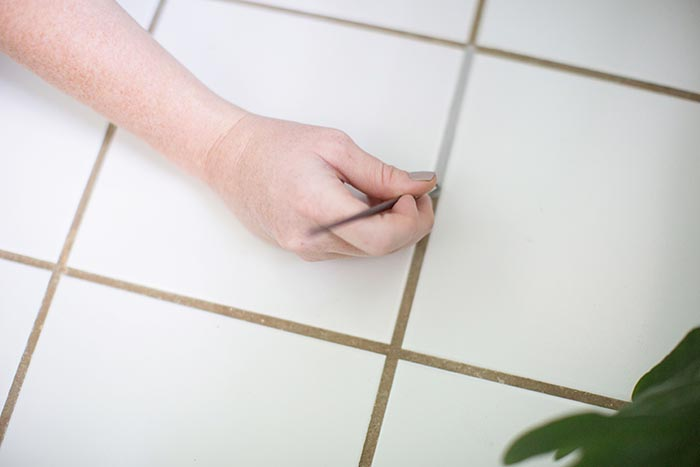 diy project how to recolor your grout design sponge