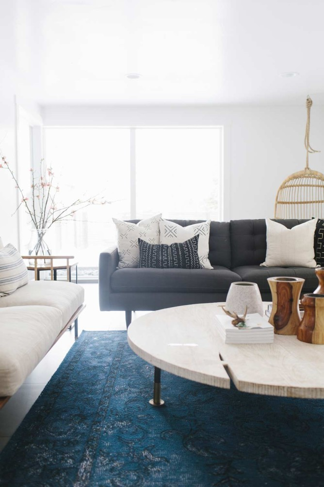 A Mid-Century Home With Worldly Loom Goods in Salt Lake City