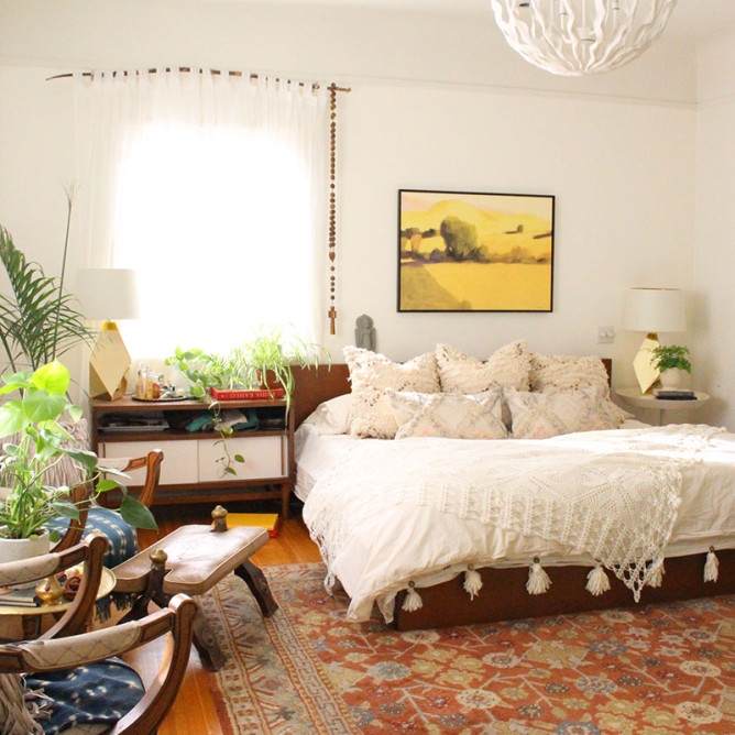 A Beverly Hills Hairstylist's Bohemian Home