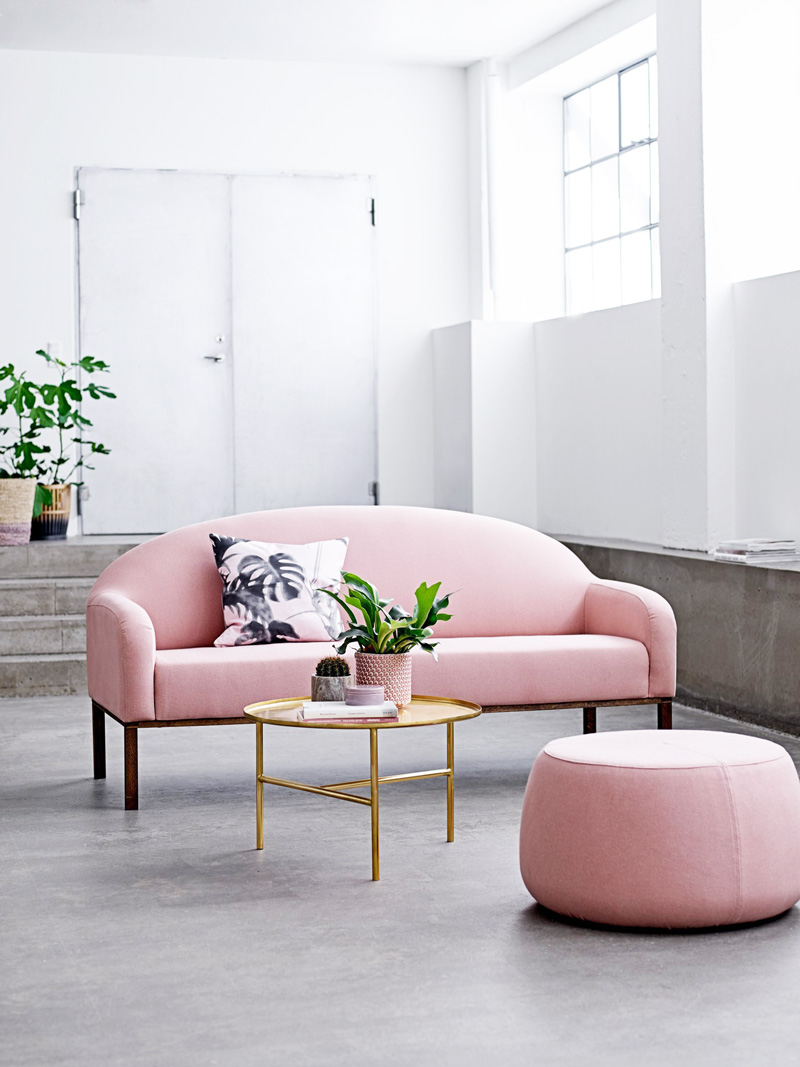 12 Times A Pink Sofa Made The Room Design Sponge