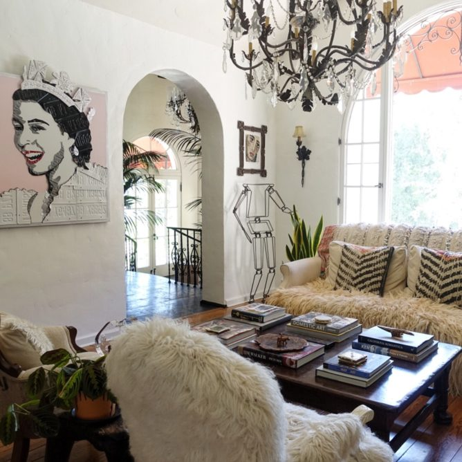 Bohemian Inspiration In A Family's Art-Filled California Home