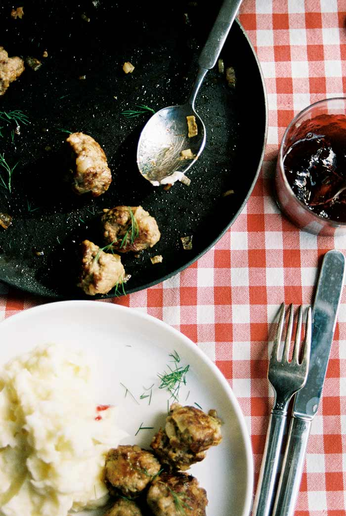 Meatballs with Blackberry-Anise sauce by Ruby Tandoh | DesignSponge
