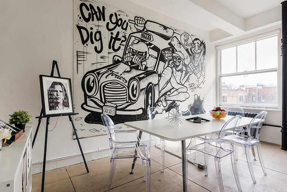 5 Tips for Decorating Your Office Courtesy of The Charles, Design*Sponge